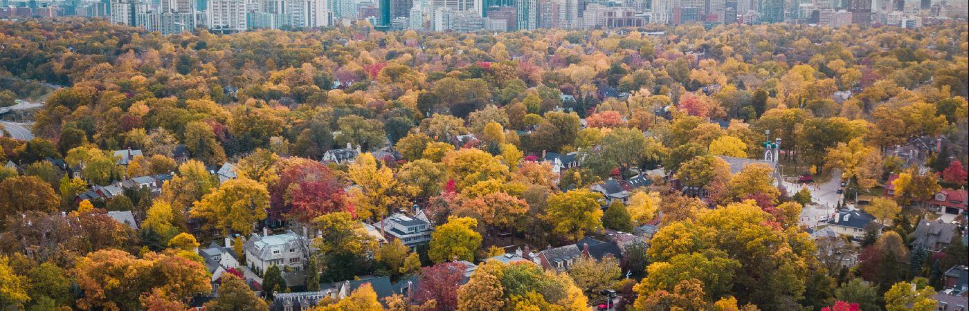 Toronto en automne