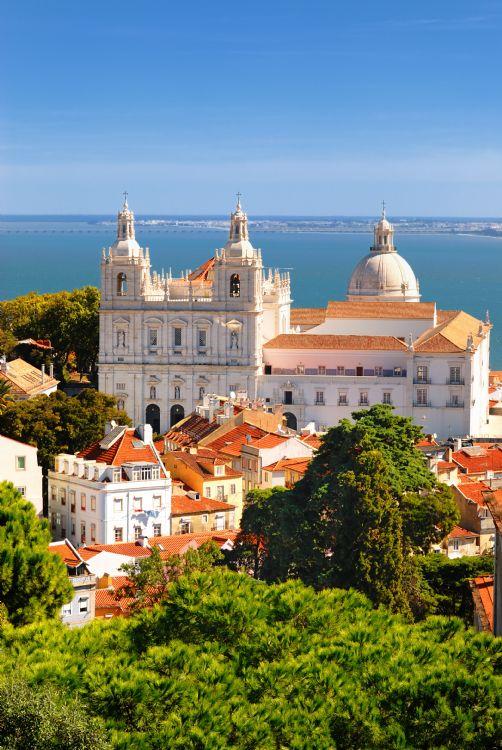 Quartier de l'Alfama à Lisbonne