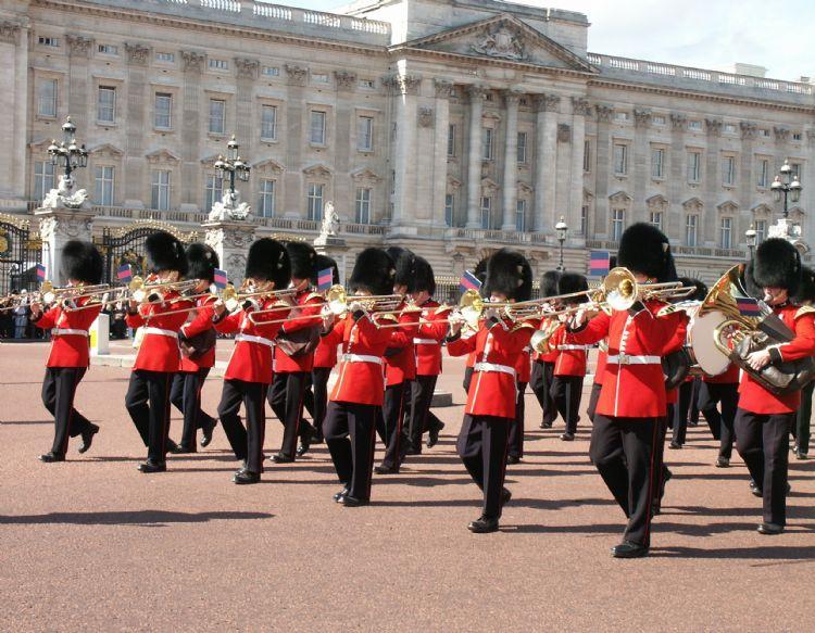 Relève de la Garde à Buckingham