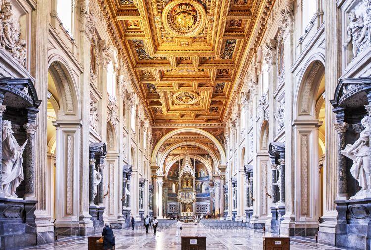 Basilique Saint-Jean de Latran à Rome